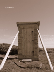 Broom Point Outhouse