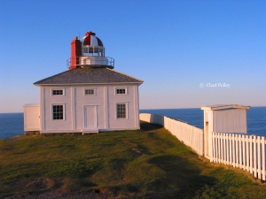 Cape Spear Lighthouse and Outhouse