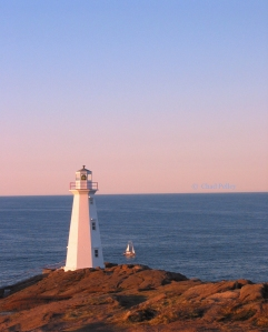 Cape Spear New Lighthouse and Scademia