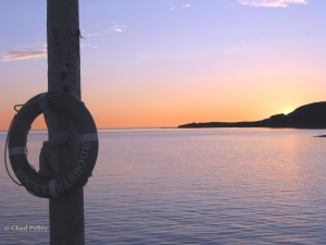 Rocky Harbour Sunset from Pier