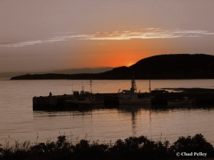 Rocky Harbour Sunset (darkened)