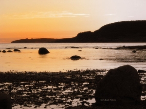 Rocky Harbour Sunset, Boulder (alt.)