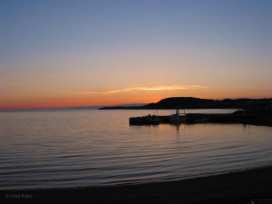 Rocky Harbour Sunset from Shore