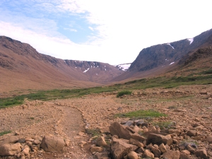 The Tablelands, Trail